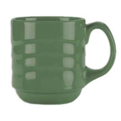 Syracuse China 903035888 12-oz Cantina Mug - Glazed, Sage