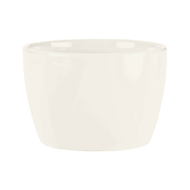Syracuse China 905356012 10-1/2-oz Royal Rideau Bouillon - Round, Slenda, White