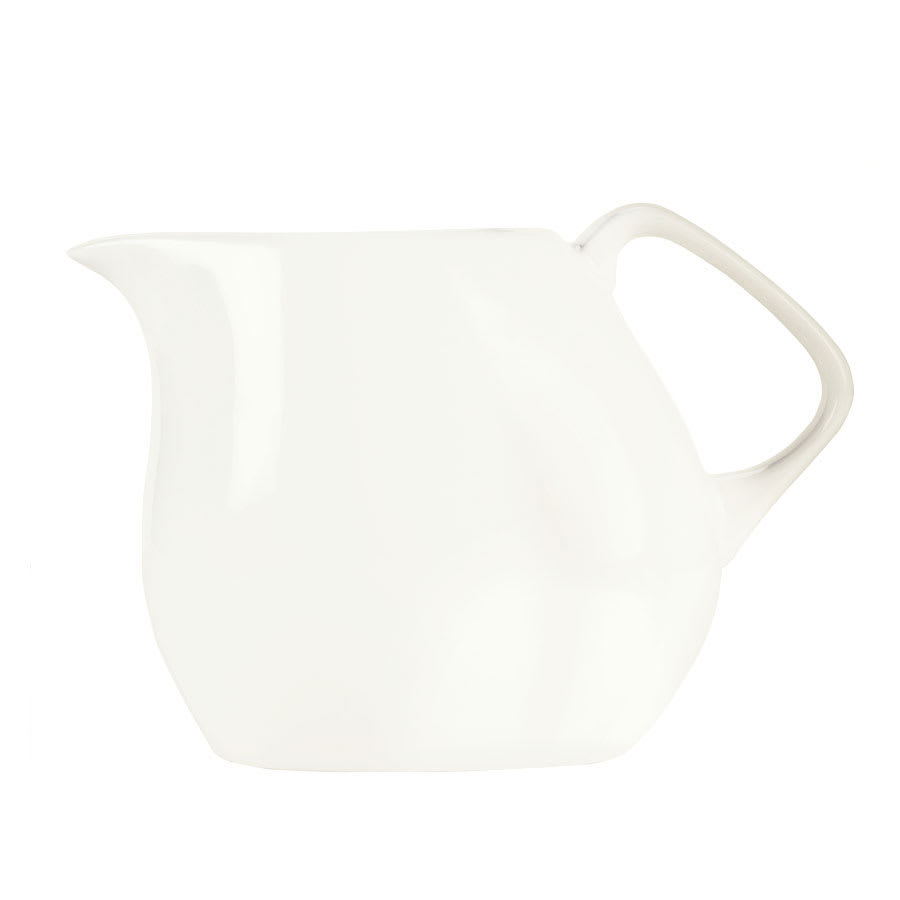 Syracuse China 905356128 3 oz Creamer - Slenda Verve, White