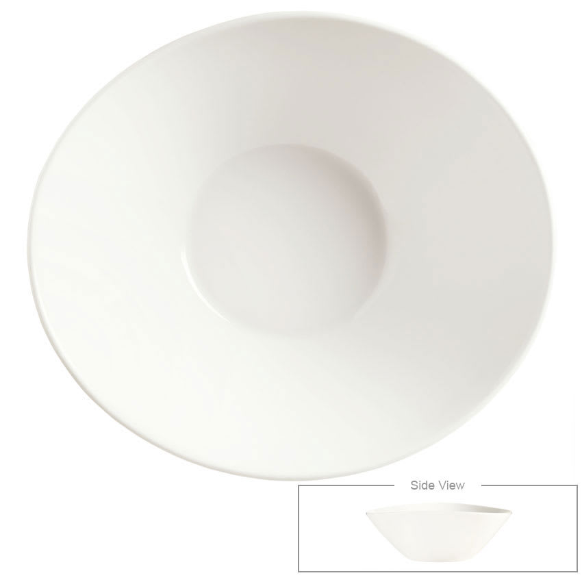Syracuse China 905356133 6 oz Round Bowl - Slenda Perpetua, White