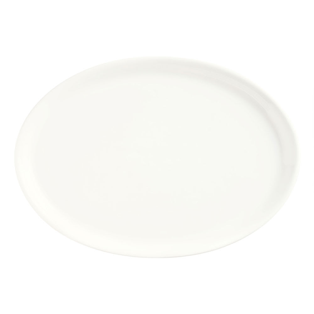 "Syracuse China 905356301 9"" Oval Tray w/ Slenda Pattern & Shape, Royal Rideau Body"