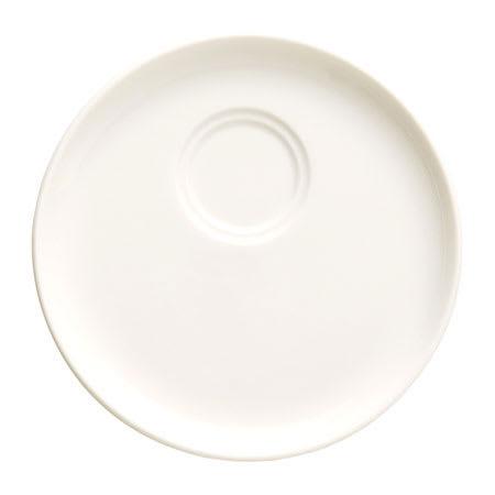 "Syracuse China 905356530 5.25"" Saucer, Double Well w/ Slenda Pattern & Shape, Royal Rideau Body"