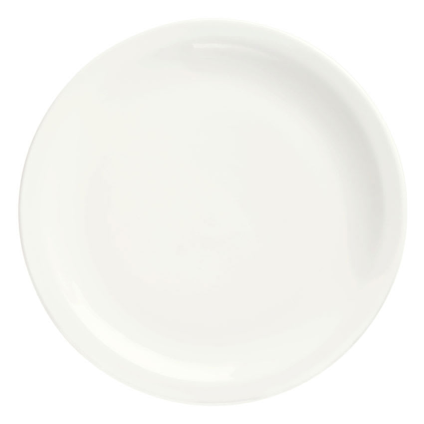 Syracuse China 905356704 Round Plate w/ Narrow Rim, Slenda Pattern & Shape, Royal Rideau Body, 8.37""