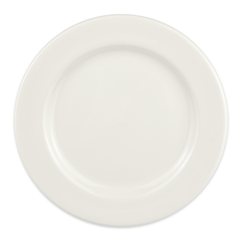"Syracuse China 905356832 6.25"" Plate w/ Slenda Pattern & Shape, Royal Rideau Body"