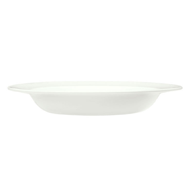 "Syracuse China 905356840 9"" Rim Soup Bowl w/ Slenda Pattern & Shape, Royal Rideau Body"