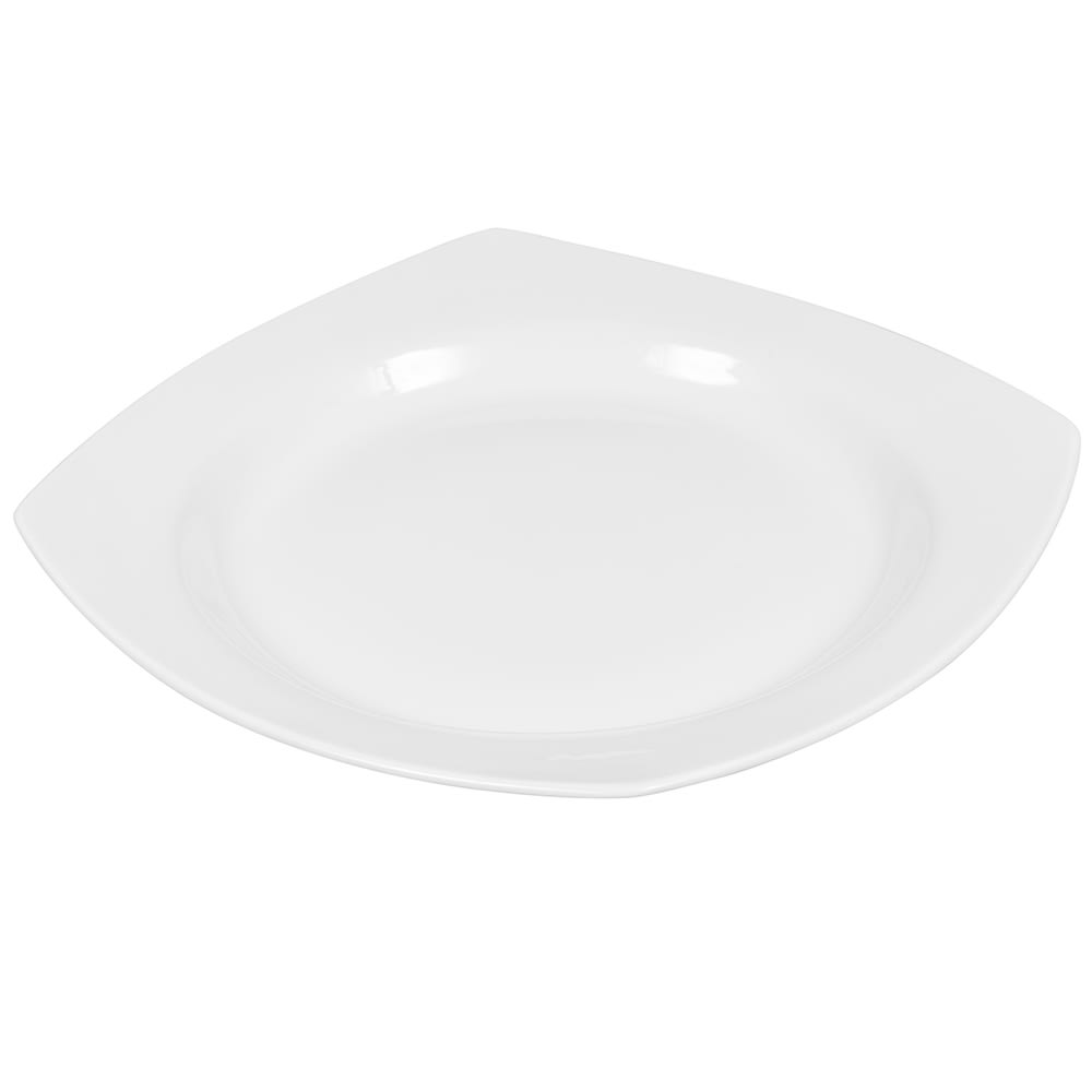 "Syracuse China 905356896 11.5"" Square All Purpose Bowl w/ Slenda Pattern & Shape, Royal Rideau Body"