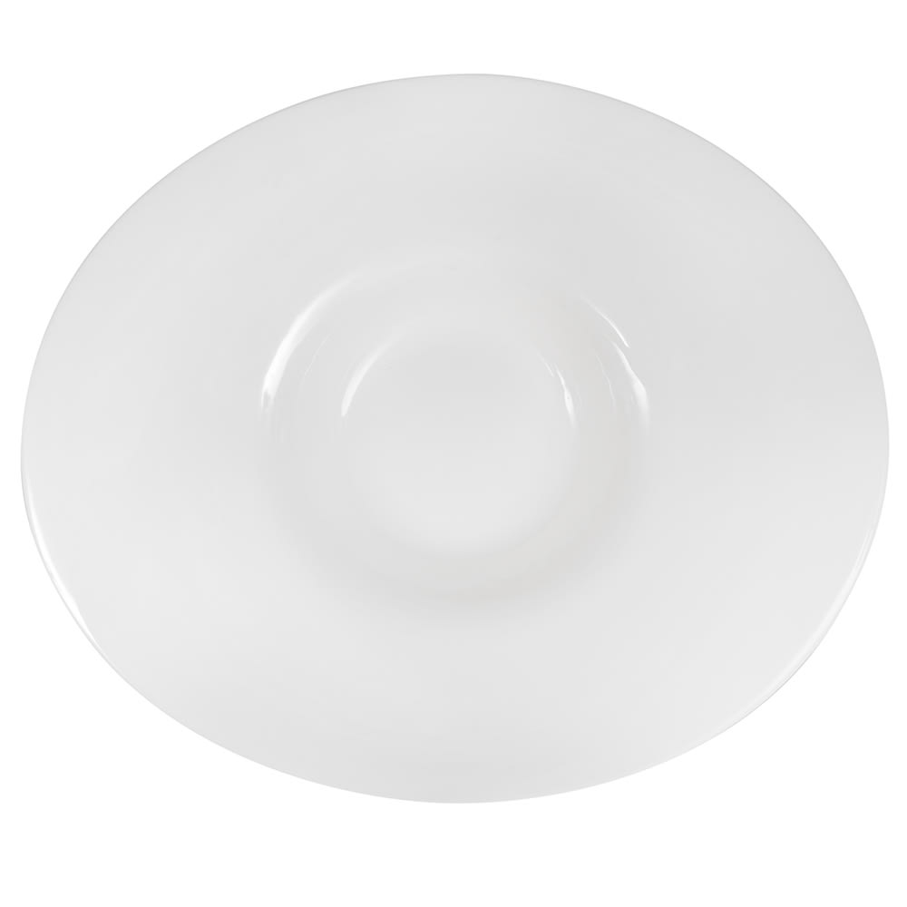 "Syracuse China 905356932 11.5"" Oval Bowl w/ Slenda Pattern & Shape, Royal Rideau Body"