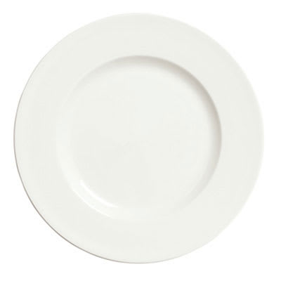 "Syracuse China 905356966 10.5"" Plate, Wide Rim, Slenda Pattern & Shape, Royal Rideau Body"