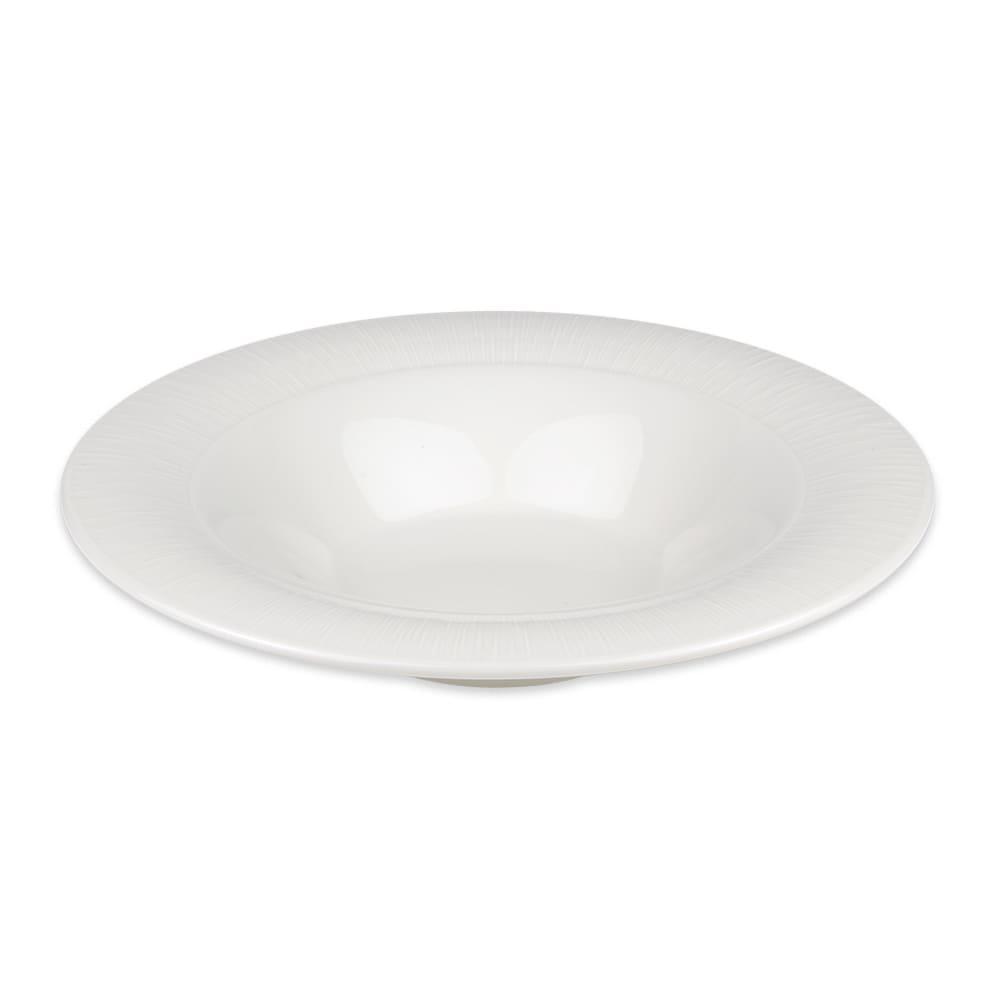 Syracuse China 909089707 13.5-oz Round Soup Bowl w/ Under Ring & Royal Rideau Body, Glazed