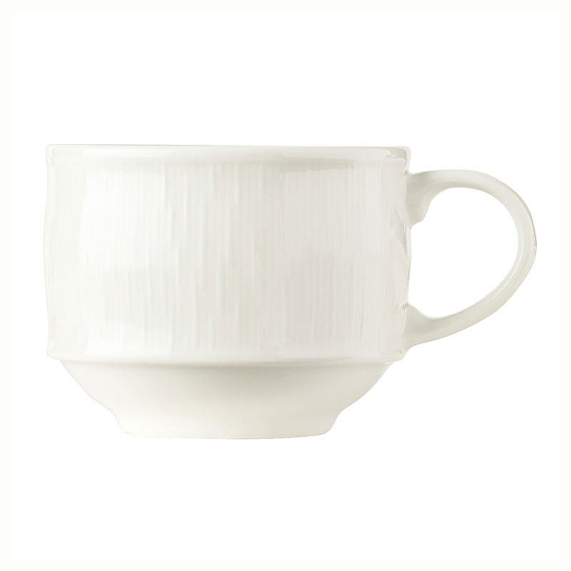 """Syracuse China 909089713 Stackable Cup, Fully Vitrified, Under Ring & Royal Rideau Body, Glazed, 4.75"""""""