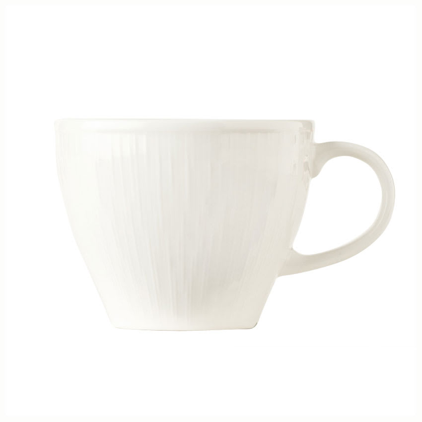 Syracuse China 909089714 Stackable Cup, Fully Vitrified, Under Ring & Royal Rideau Body, Glazed, 4.88""