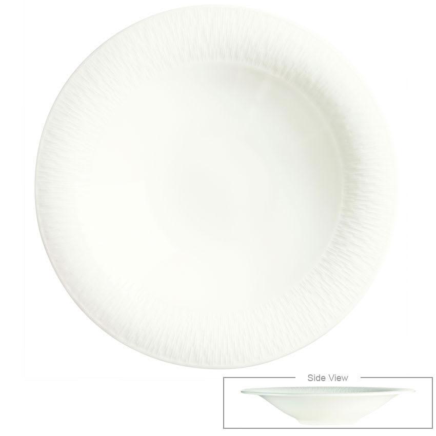 Syracuse China 909089731 18-oz Royal Rideau Coupe Bowl - Round, Glazed, White