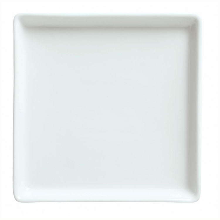 "Syracuse China 911194480 6.25"" Tray w/ Reflections Pattern & Shape, Alumawhite"