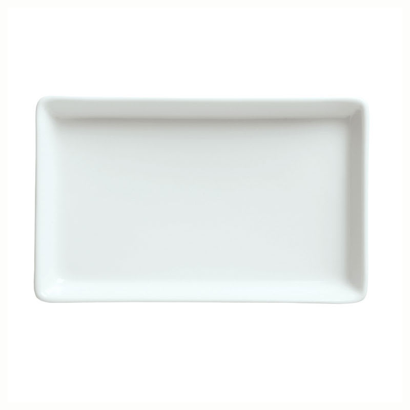 Syracuse China 911194482 Tray w/ Reflections Pattern & Shape, Alumawhite, 6.25x4""