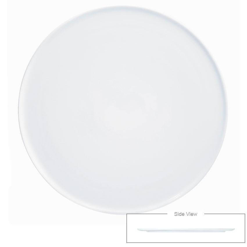 """Syracuse China 911194486 8"""" Chef's Selection Tray - Round, Aluma White"""