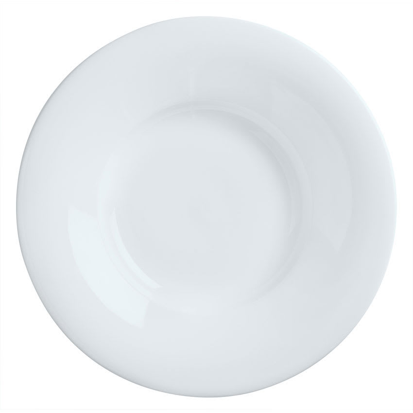 Syracuse China 911194701 9 oz Reflections Pasta Bowl - Round, Aluma White