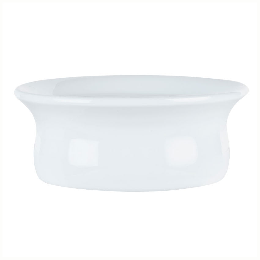 Syracuse China 911194806 9-oz Chef's Selection Pot Pie Dish - Round, Aluma White