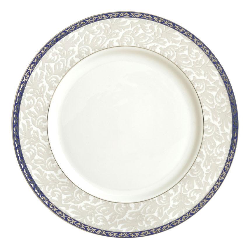 """Syracuse China 912345003 6-5/8"""" Scarborough Plate - Round, Glazed, White"""