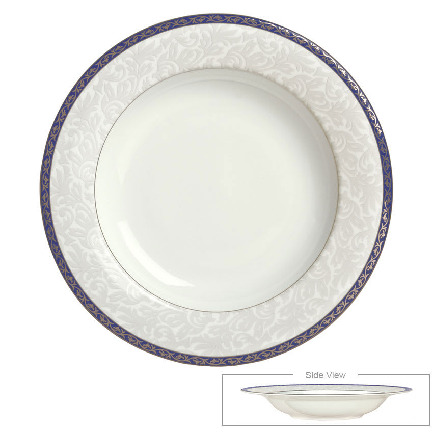Syracuse China 912345004 16-oz Scarborough Rim Soup Bowl - Round, Glazed, White