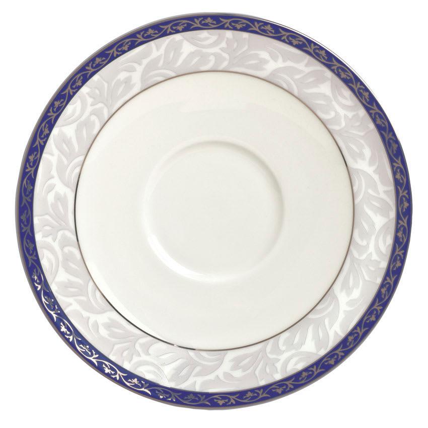 "Syracuse China 912345012 6"" Scarborough Saucer - Round, Glazed, White"