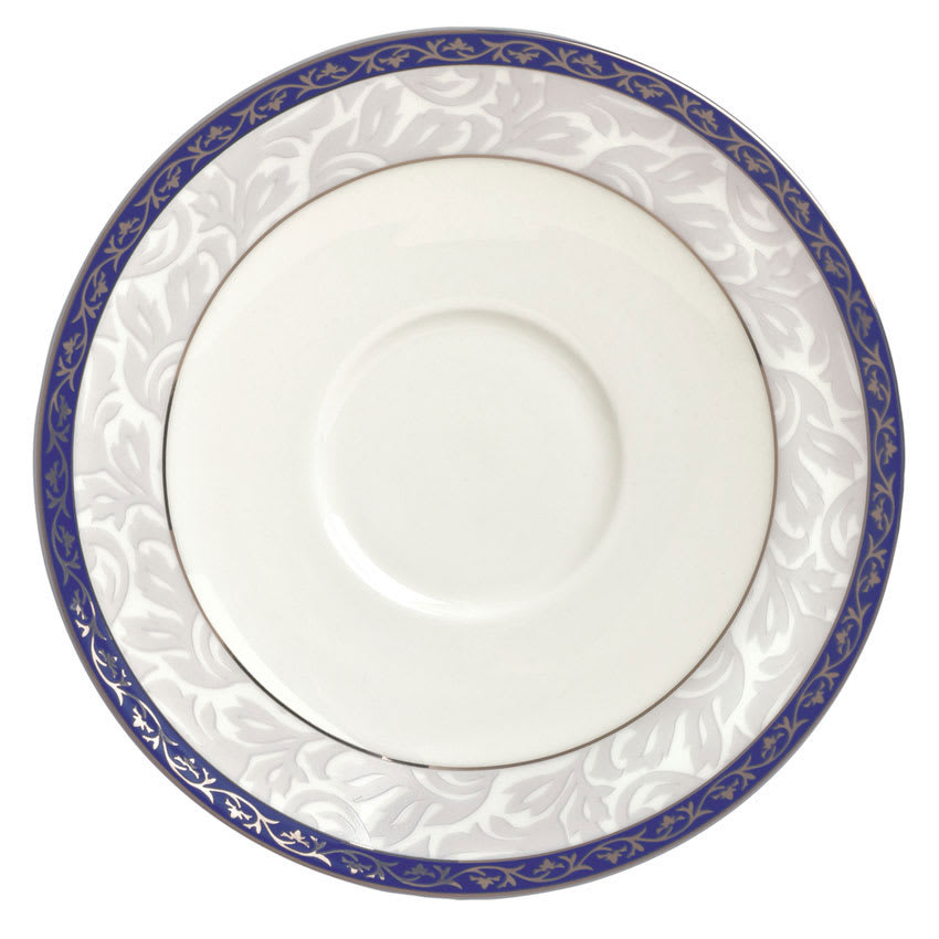 "Syracuse China 912345017 5"" Scarborough Saucer - Round, Glazed, White"