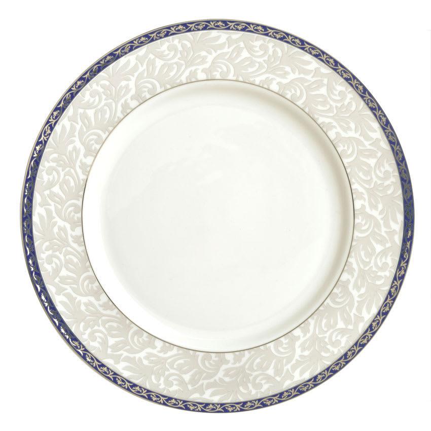 """Syracuse China 912345025 10-7/8"""" Scarborough Plate - Round, Glazed, White"""