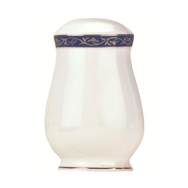 Syracuse China 912345027 Scarborough Pepper Shaker - Glazed, White