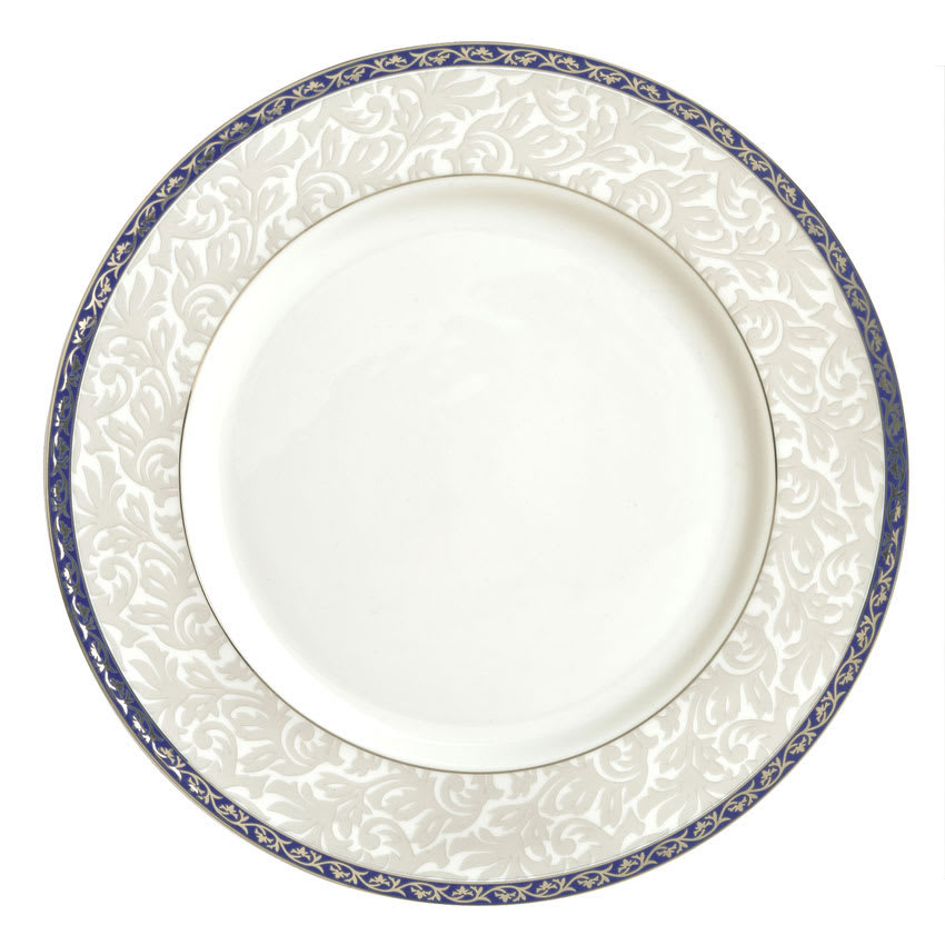 "Syracuse China 912345033 9"" Scarborough Plate - Round, Glazed, White"