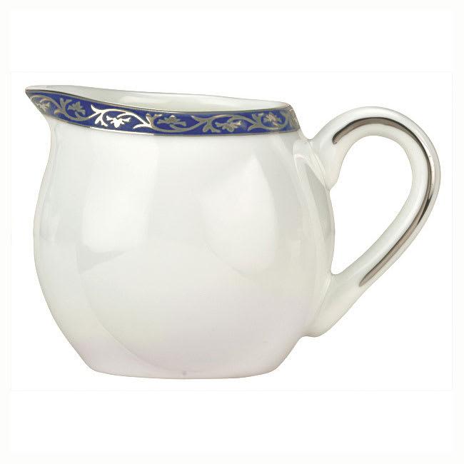 Syracuse China 912345077 3-oz Scarborough Creamer - Glazed, Handle, White