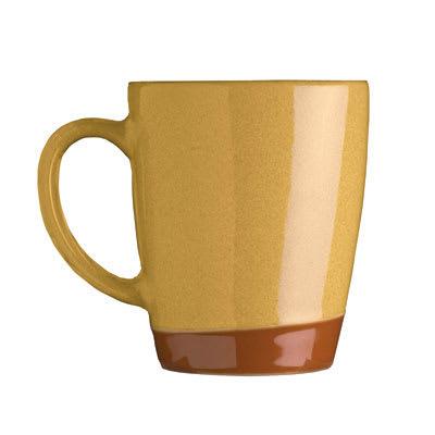 Syracuse China 922222354 14 oz Mug, Terracotta Clay, 2 Tone, Pine
