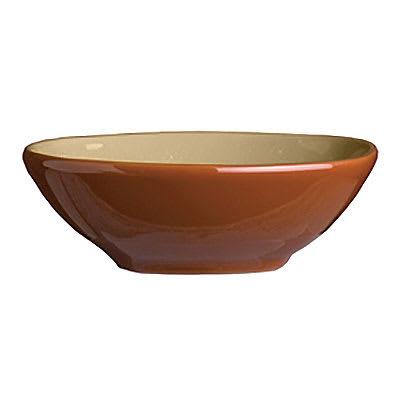 "Syracuse China 922222355 4 oz Round Bowl, Terracotta Clay, 2 Tone, Pine, 4.12x1.25"""