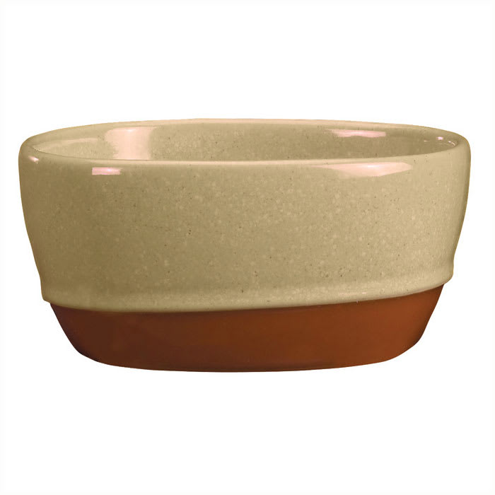 Syracuse China 922222356 9.5 oz Round Bouillon, Terracotta Clay, 2 Tone, Pine