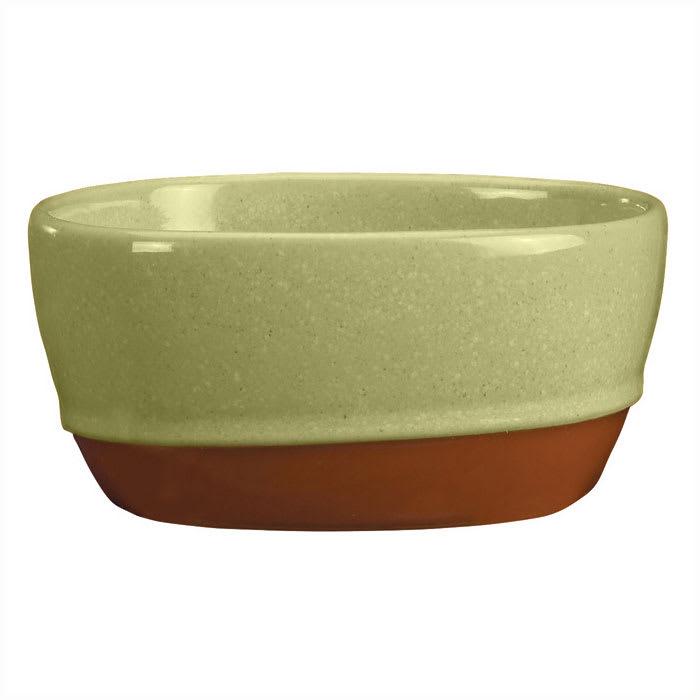 Syracuse China 922224356 9.5 oz Round Bouillon, Terracotta Clay, 2 Tone, Fern