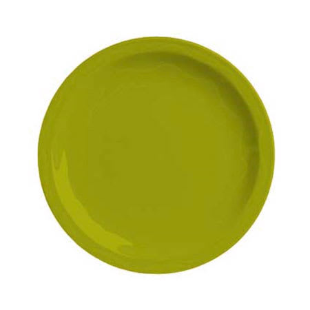 """Syracuse China 923036002 11-1/4"""" Cantina Plate - Glazed, Limon"""