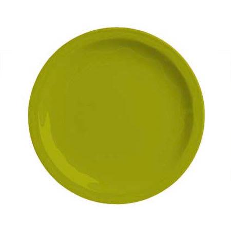 """Syracuse China 923036009 6-1/4"""" Cantina Plate - Glazed, Limon"""