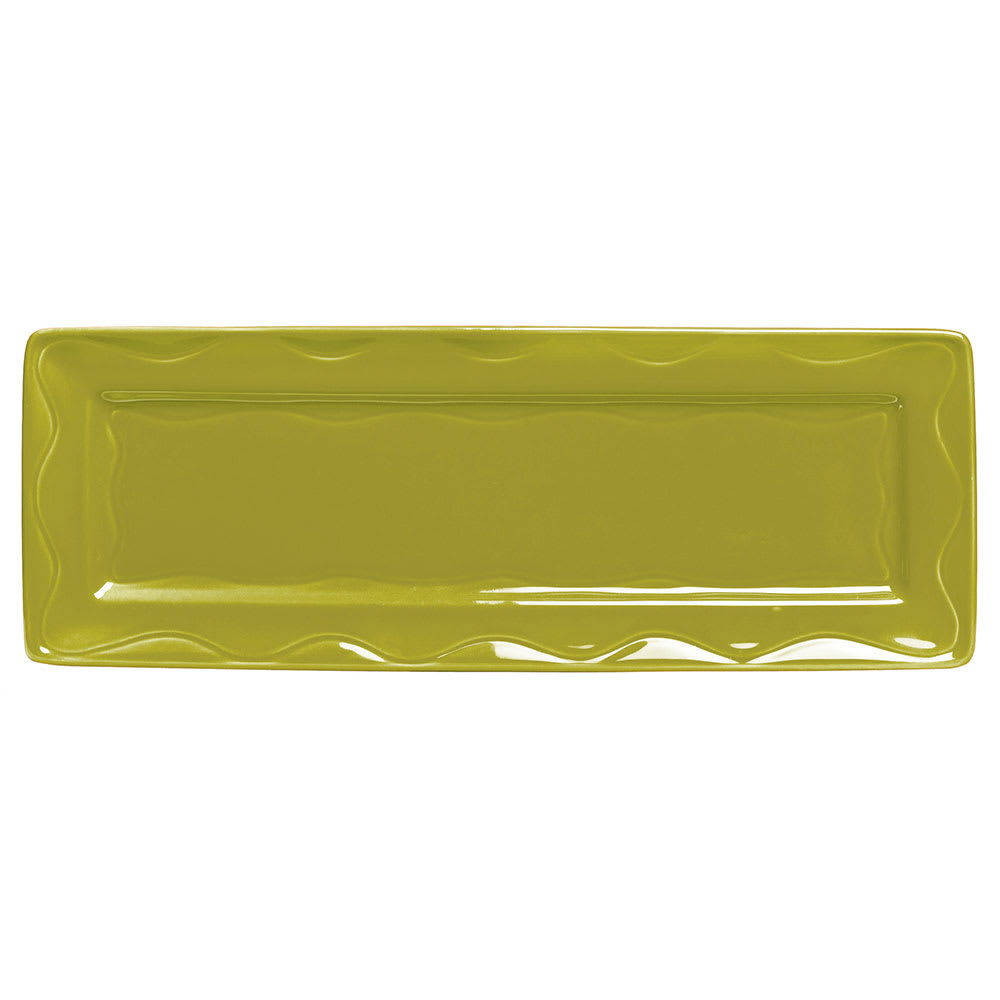 "Syracuse China 923036117 12-3/4"" Cantina Tray - Glazed, Limon"
