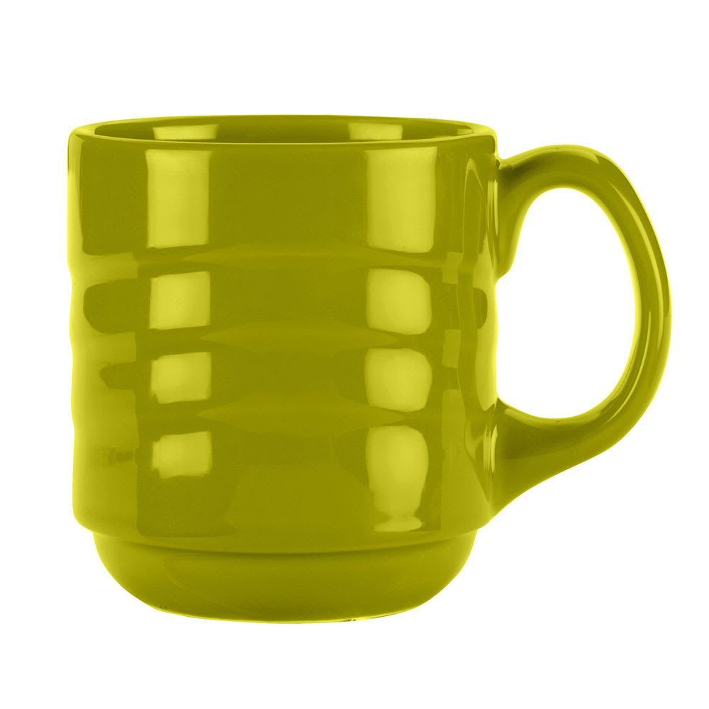 Syracuse China 923036888 12-oz Cantina Mug - Glazed, Limon