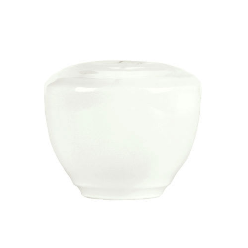 "Syracuse China 935550 129 Pepper Shaker - Embossed Rim, Porcelain, 2x1.75"", Atherton, White"