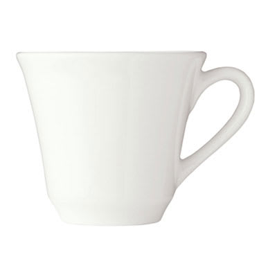 Syracuse China 950002505 8 oz Tea Cup - Undecorated Royal Rideau Pattern