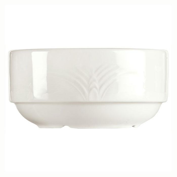 Syracuse China 950041749 10 oz Royal Rideau Bouillon - Round, Cafe Royal, White