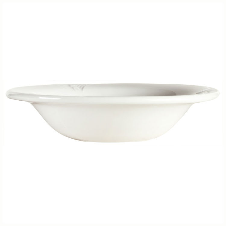 Syracuse China 950041892 4 oz Royal Rideau Fruit Bowl - Round, Cafe Royal, White