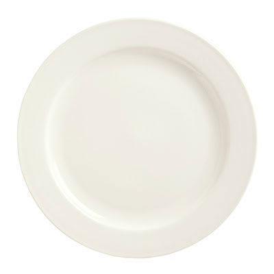 "Syracuse China 951250285 7.25"" Round Plate w/ Rolled Edge, Flint Pattern, Frama Shape"