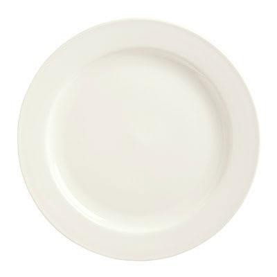 "Syracuse China 951250288 8"" Round Plate w/ Rolled Edge, Flint Body"