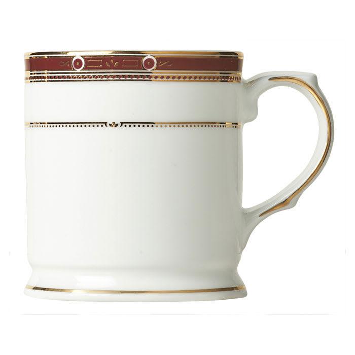 Syracuse China 954321013 9-3/4-oz Barrymore Mug - Glazed, White