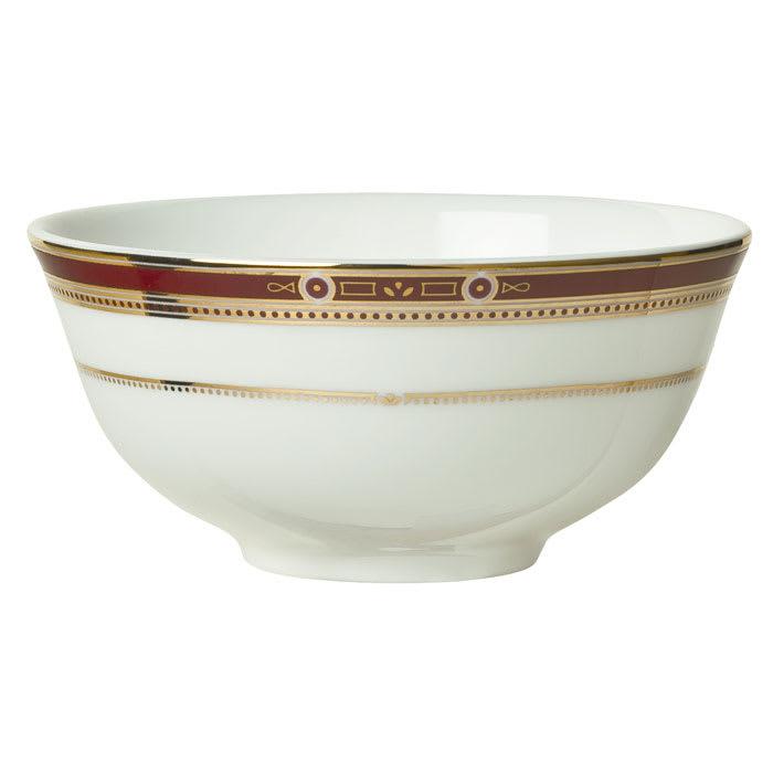 Syracuse China 954321014 9-3/4-oz Barrymore Bouillon - Round, Glazed, White