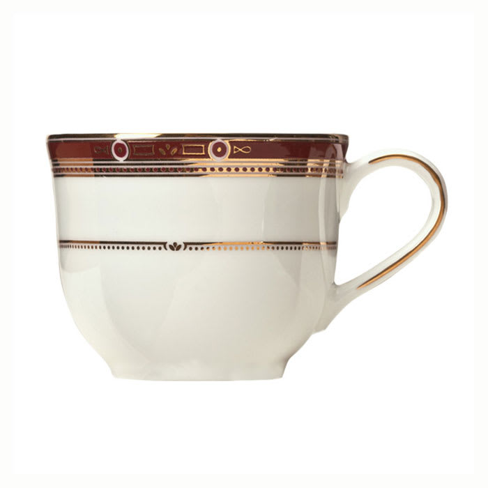 Syracuse China 954321016 4-oz Barrymore A.D. Cup - Glazed, White