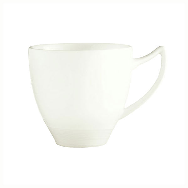 Syracuse China 987659330 8.75-oz Handled Cup w/ Silk Pattern & Royal Rideau, Alumina Body