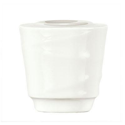 """Syracuse China 995679526 2-1/8"""" Royal Rideau Pepper Shaker - Round, White"""