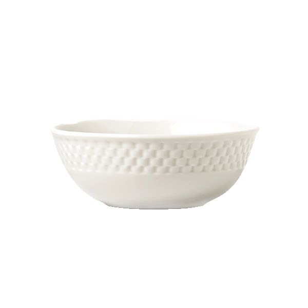Syracuse China 999013760 15-oz EOS Constellation Cereal Bowl - Porcelain, Lunar White