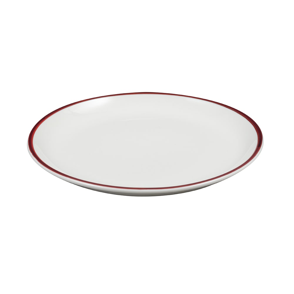 "Syracuse China 999025150 9"" Round Porcelain Plate, Lunar White"